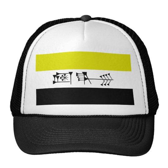 Ama-gi Sumarian Libertarian Freedom Flag Trucker Hat