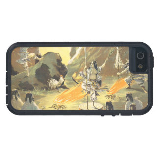 Ama No Ihaya dansing man japanese oriental art iPhone SE/5/5s Case