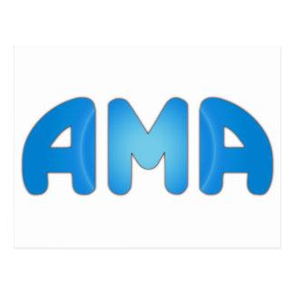 AMA POSTCARD