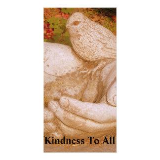 Amabilidad a todos plantilla para tarjeta de foto