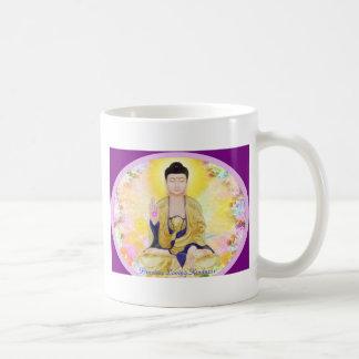 Amabilidad cariñosa taza de café