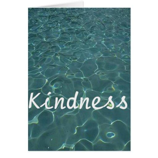 Amabilidad para la amabilidad felicitacion