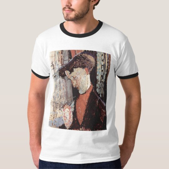 Amadeo Modigliani - Porträt d Frank Burty Haviland T-Shirt
