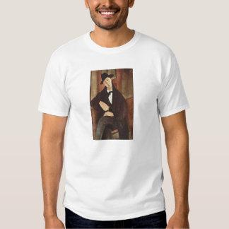 Amadeo Modigliani -Porträt des Mario Varfogli 1919 T-Shirt