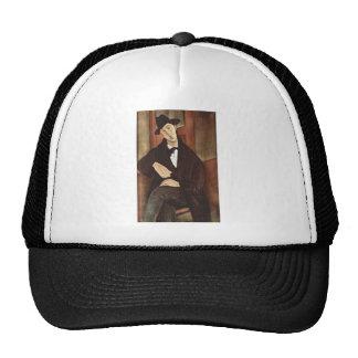 Amadeo Modigliani -Porträt des Mario Varfogli 1919 Trucker Hat