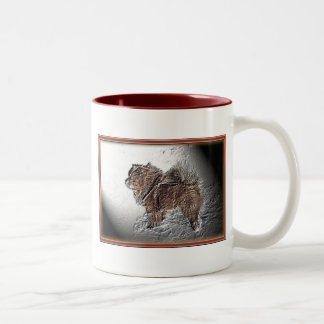 Amadeus, das Relief Two-Tone Coffee Mug