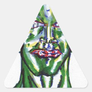 Amadeus Pegatina Triangular