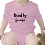 Amado por el regalo del abuelo trajes de bebé