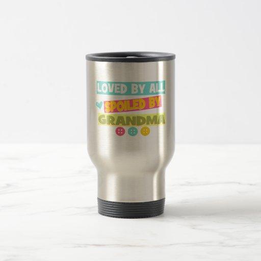Amado por estropeado todo por la abuela taza de café