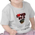 Amado por un Rottweiler 2 Camiseta