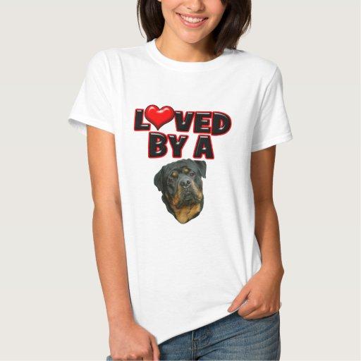 Amado por un Rottweiler 2 Playeras