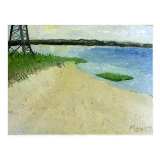 Amagansett Bay Postcard