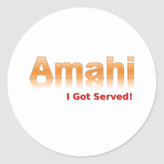 Amahi Sticker