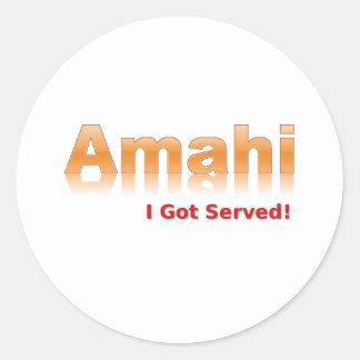 Amahi Sticker