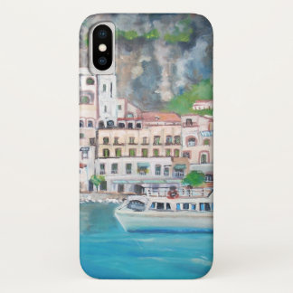 Amalfi, Apple iPhone X, Barely There Phone Case