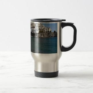 Amalfi Beach Travel Mug
