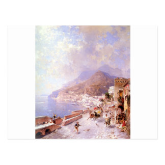 Amalfi by Franz Richard Unterberger Postcard