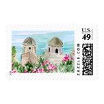 Amalfi Church Stamp