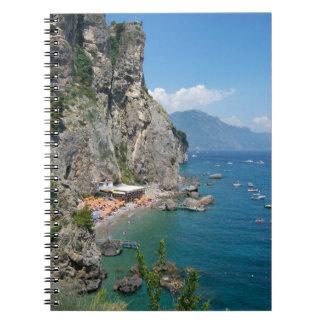 Amalfi Coast Beach Notebook