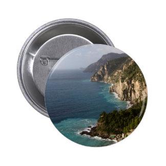 Amalfi Coast 6 Cm Round Badge