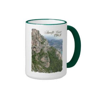 Amalfi Coast custom mug - choose style, color