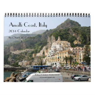 Amalfi Coast, Italy - 2014 Calendar