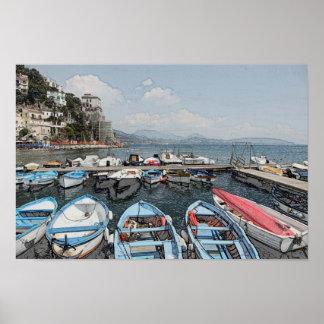 Amalfi Coast Italy Poster