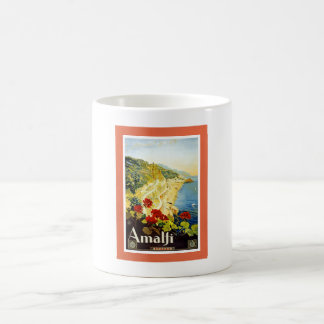 Amalfi Coast, Italy Vintage Travel Advertisement Coffee Mug