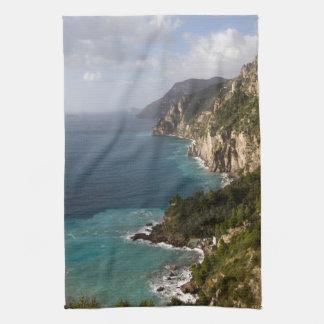 Amalfi Coast Hand Towel