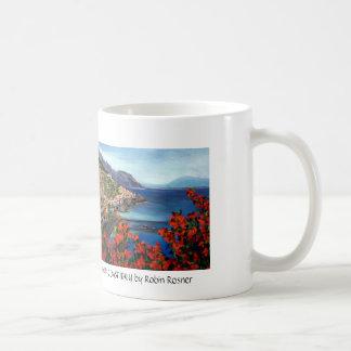 amalfi coast last try, amalfi coas... - Customized Coffee Mug