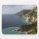 Amalfi Coast line mouse pad