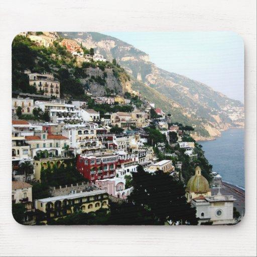 amalfi coast mouse pad