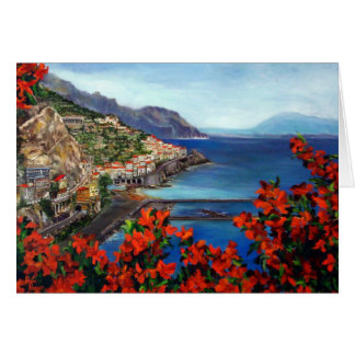 Amalfi Coast Notecard Card