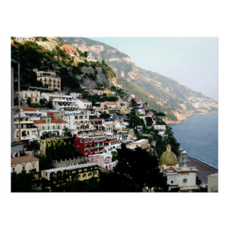 amalfi coast print