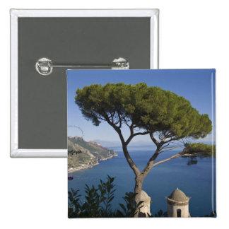 Amalfi coast, Ravello, Campania, Italy Buttons