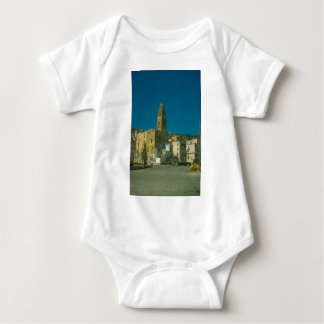 Amalfi coast, Salerno waterfront Baby Bodysuit
