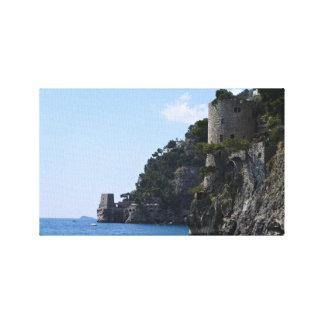Amalfi Coast Watchtowers Canvas Print