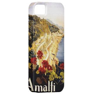Amalfi Coastline Italian Travel Poster 1910 - 1920 iPhone SE/5/5s Case