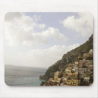 Amalfi Coastline Mouse Pad