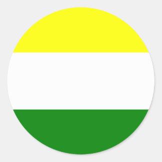 amalfi, Columbia Round Sticker