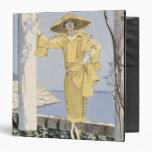 Amalfi, ejemplo de una mujer en un vestido amarill
