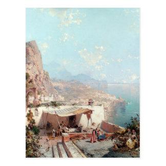 Amalfi, el golfo de Salerno de Francisco Unterberg Postal