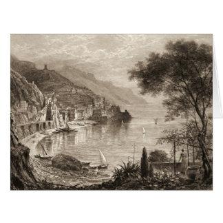 Amalfi Italia 1906 Tarjeton