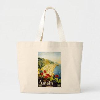 Amalfi, Italia Bolsa De Tela Grande