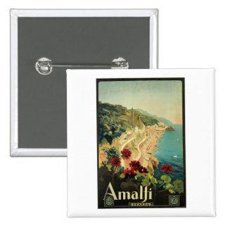 Amalfi Italia Italy Vintage Pins
