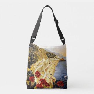 Amalfi Italy All-Over-Print Cross Body Bag