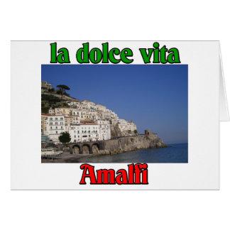Amalfi Italy Card