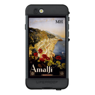 Amalfi Italy custom monogram waterproof cases