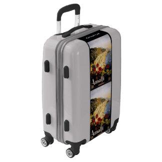 Amalfi Italy custom name luggage