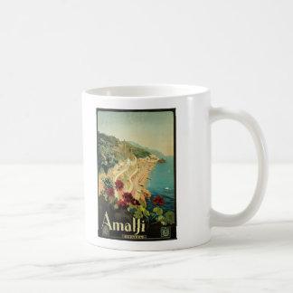 Amalfi, Italy vintage poster Coffee Mug